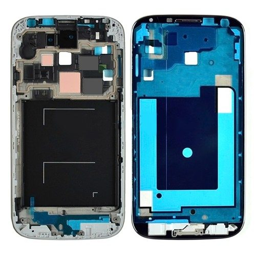 For Galaxy S4 CDMA i545/L720/R970 Mid-Frame with Home Button – Black