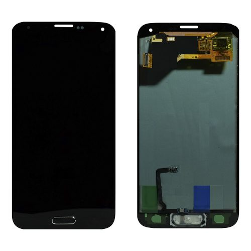 For Galaxy S5 LCD with Digitizer (No Logo) – Black