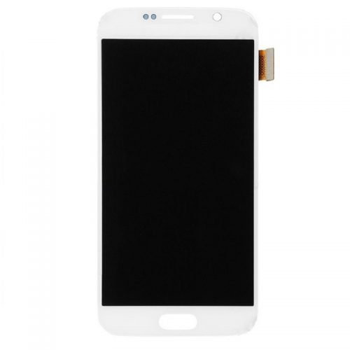 For Galaxy S6 LCD with Digitizer (No Logo) – White
