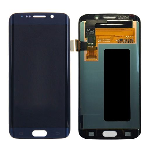 For Galaxy S6 Edge LCD with Digitizer (No Logo) – Blue