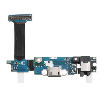 For Galaxy S6 Edge G925S (Sprint) Charging Port with Flex Cable, Headphone Jack, Touch Sensor Keyboard, Home Button Connector and Mic