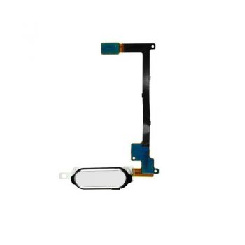 For Note 4 Home Button With Flex Cable – White