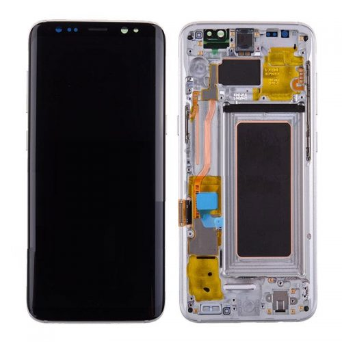For Galaxy S8 Plus LCD Assembly With frame – Silver Frame