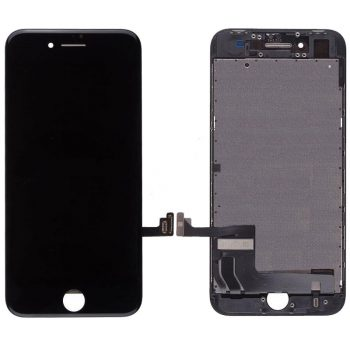 For iPhone 8 (4.7″) LCD & Digitizer (AM, High Quality) – Black