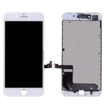 For iPhone 8 Plus (5.5″)  LCD and Digitizer (AM, High Quality) – White