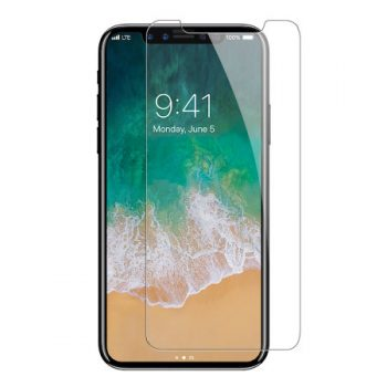For iPhone X Tempered Glass in Bulk – Clear