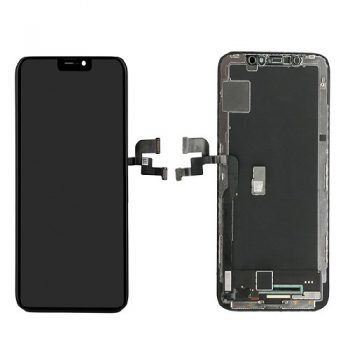 For iPhone X LCD & Digitizer  (High Quality)  – Black