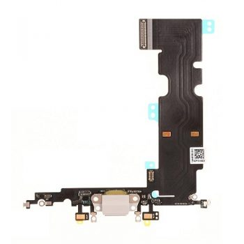 For iPhone 8 Plus (5.5″) Charging Port with Flex Cable  & Mic – Gold