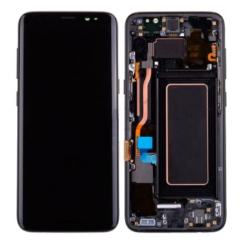 For Galaxy S8 LCD Assembly With frame – Black Frame