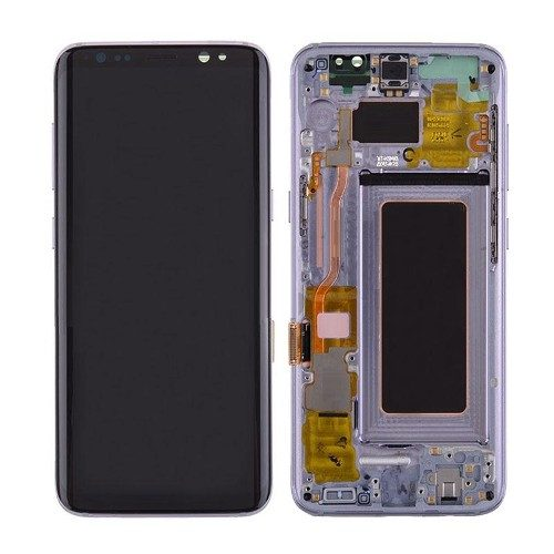 For Galaxy S8 LCD Assembly With frame – Purple Frame